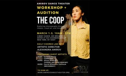 Amirov Dance Theater: The Coop Workshop + Audition Opportunity