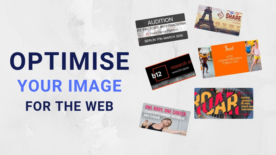 How to Optimise Your Image For The Web