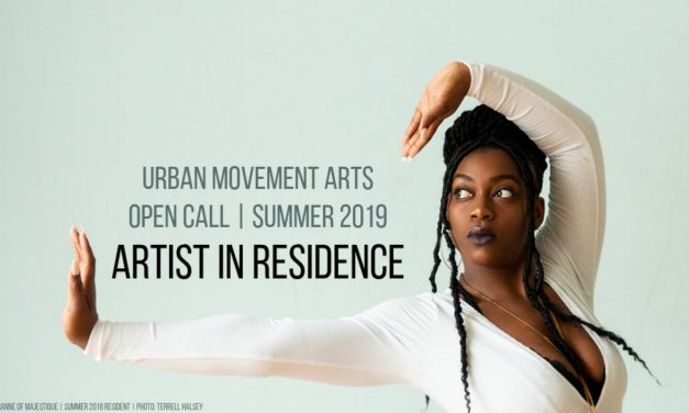 Open Call Artist in Residence Urban Movement Arts