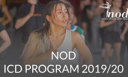 Application Open New ICD International Contemporary Dance Program Formula Italy