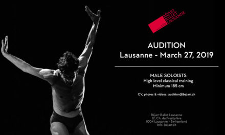 Audition Notice Bejart Ballet Lausanne