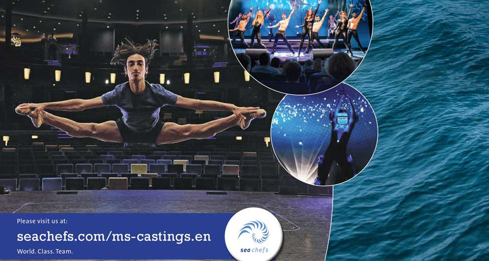 Audition Notice Mein Schiff Fleet