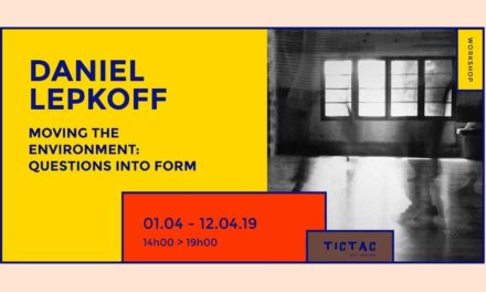 Daniel Lepkoff Workshop at TicTac Art Centre