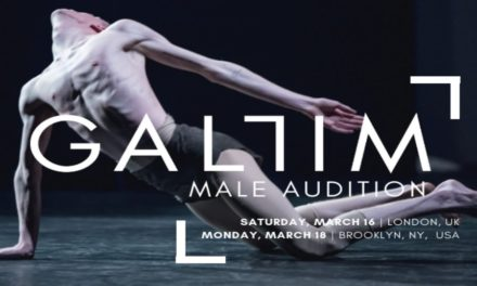 Gallim Dance Male Audition