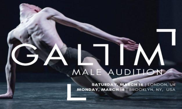Gallim Dance Male Audition