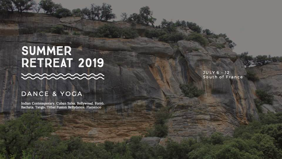 Shoonya Summer Dance & Yoga Retreat 2019 | South of France