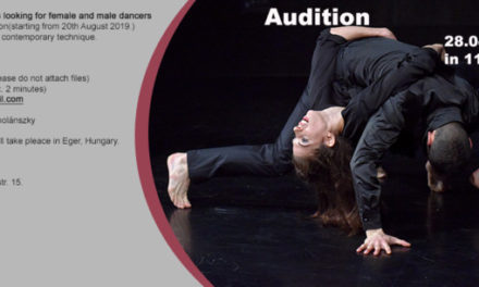 Audition Notice GG Dance Egeris