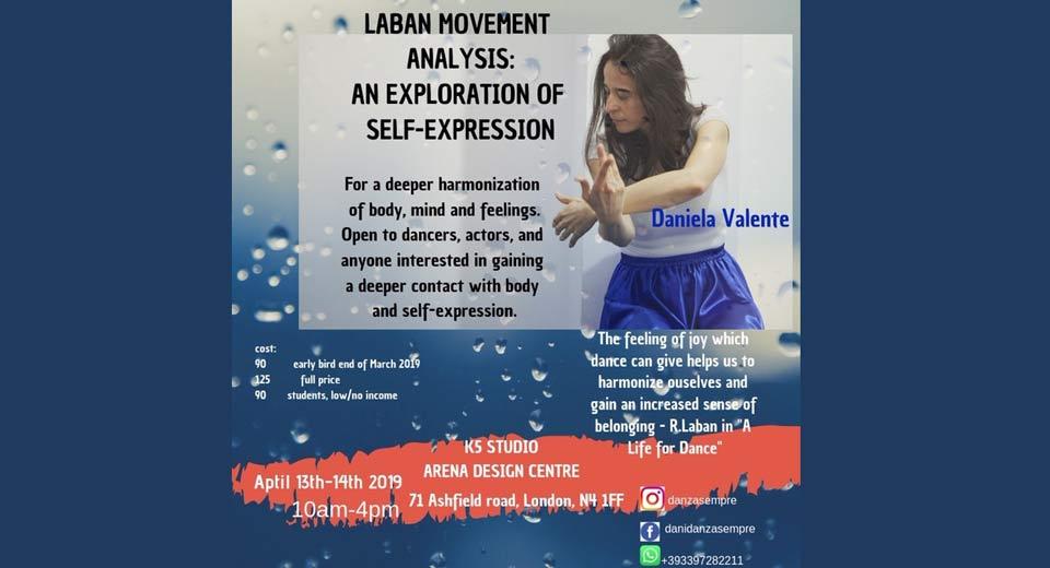 Laban Movement Analysis Workshop