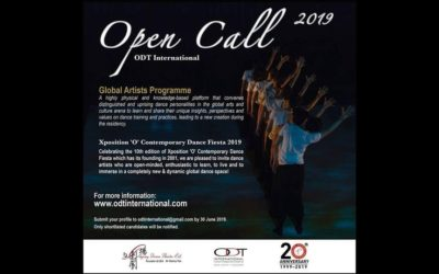 Open Call Global Artist Programme