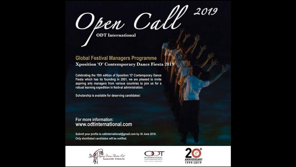 Open Call: Global Festival Manager Programme (Singapore)