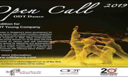 Open Call: ODT Young Company (Singapore)!