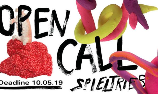 "Open Call ""SPIELTRIEB // PLAY INSTINCT"""