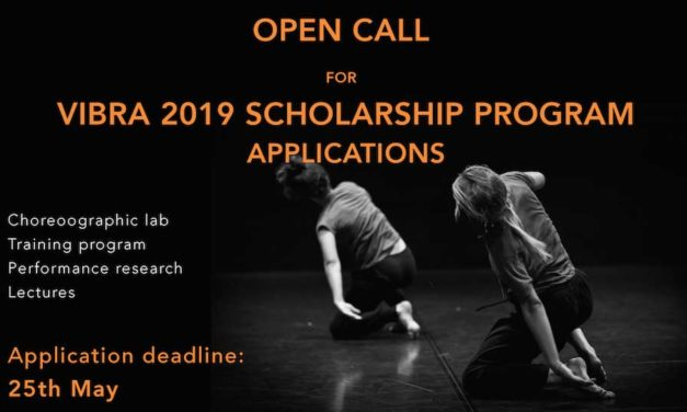 VIBRA 2019 – International Workshops & Festival Of Contemporary Dance