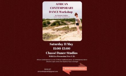 African Contemporary Dance Workshop Amsterdam