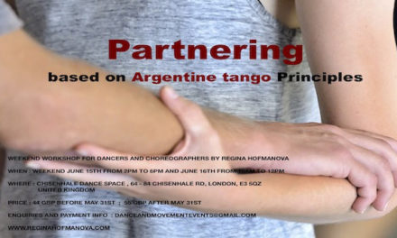 Argentine Tango Based Partnering Workshop