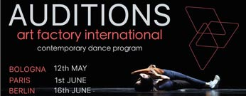 Art Factory International Berlin Audition
