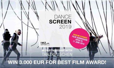 Dancescreen 2019 + TANZRAUSCHEN Festival Wuppertal