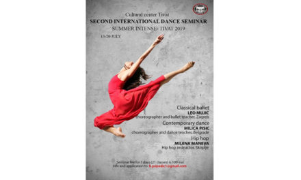 International Dance Seminar – Summer Intense Montenegro
