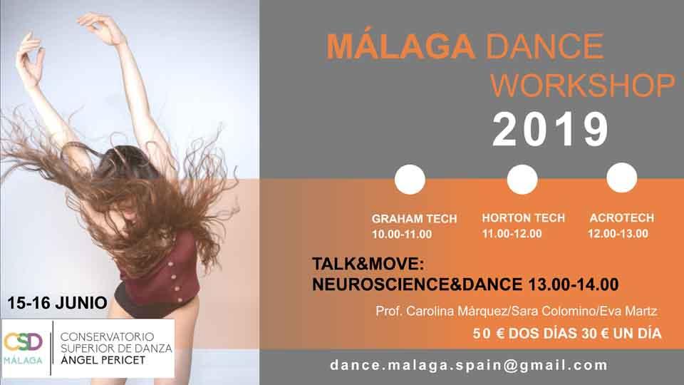 Málaga Dance Workshop 2019