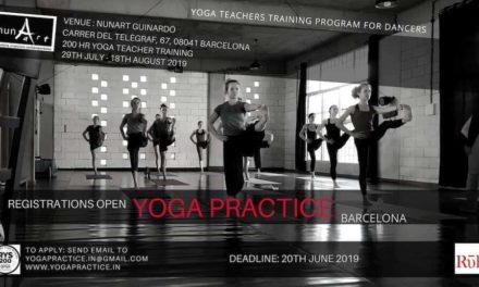 Yoga Training Program for Dancers Barcelona