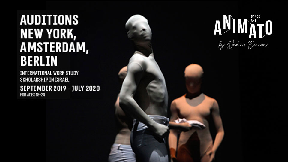 Animato Dance Art – International Work-Study Scholarship In Israel