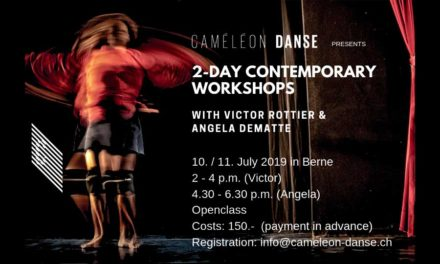 Contemporary Dance  Workshop With Victor Rottier And Angela Dematte