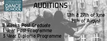 Copenhagen Contemporary dance school programs