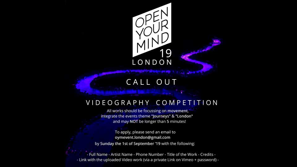Open Your Mind London Experimental Dance Festival