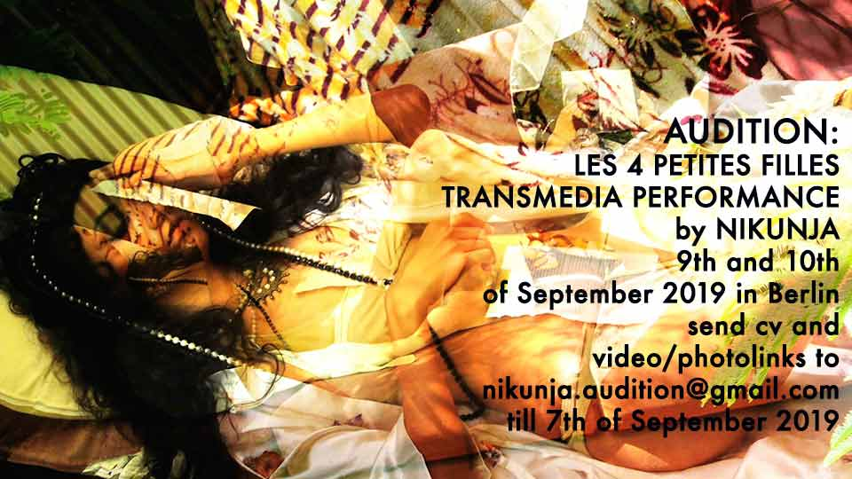 Audition Transmedia Performance Nikunja