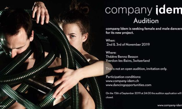 Auditions | Dancing Opportunities