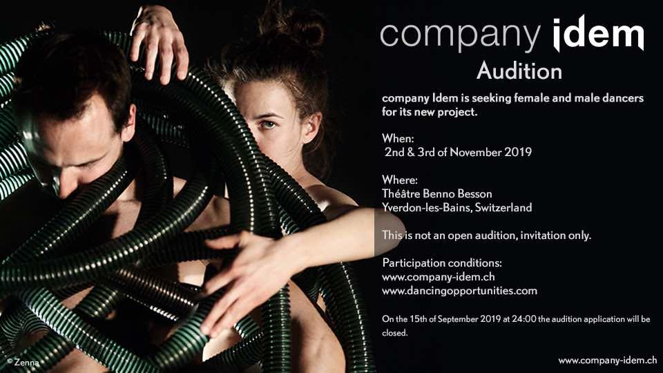 Company Idem Is Seeking Dancers