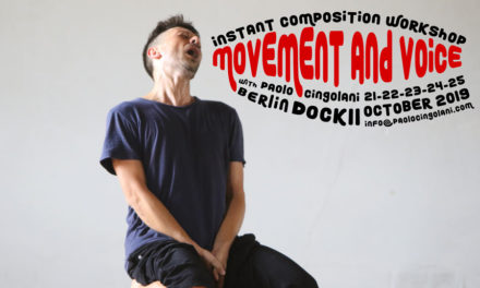 Instant Composition Workshop – Movement And Voice