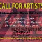 Ensibuko Arts Foundation Call For Artists