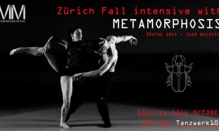 Metamorphosis Intensive Week in Zurich, Switzerland