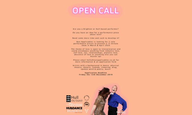 Open Call For 15 Minute Cabaret Performance