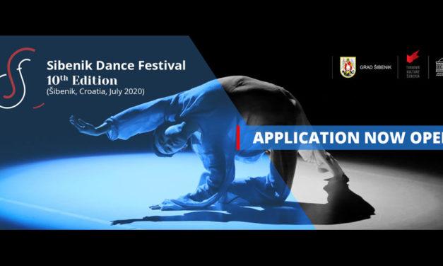 Open Call For Applications Sibenik Dance Festival