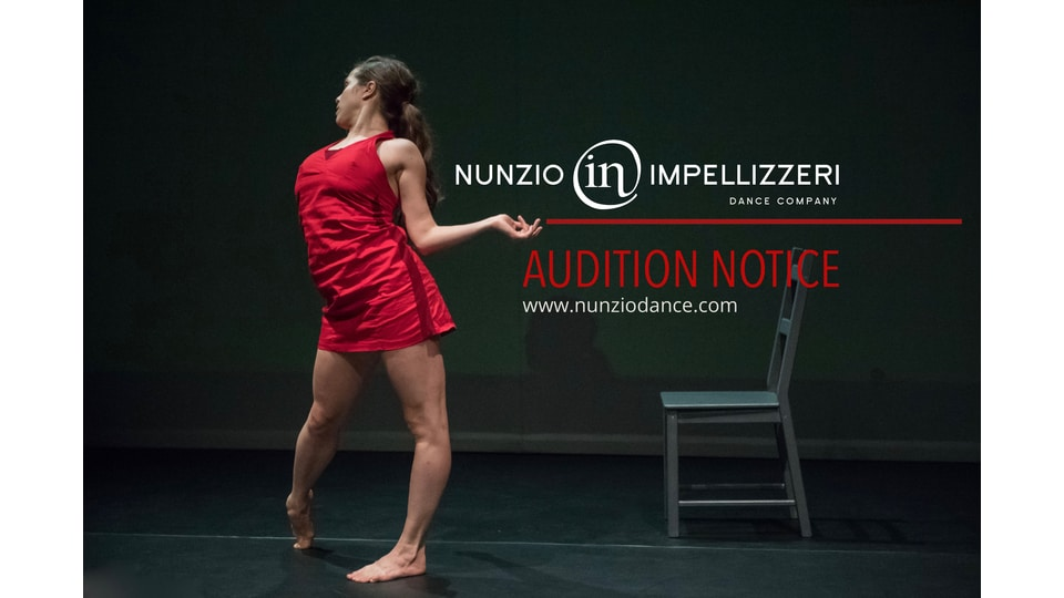Audition Nunzio Impellizzeri Dance Company
