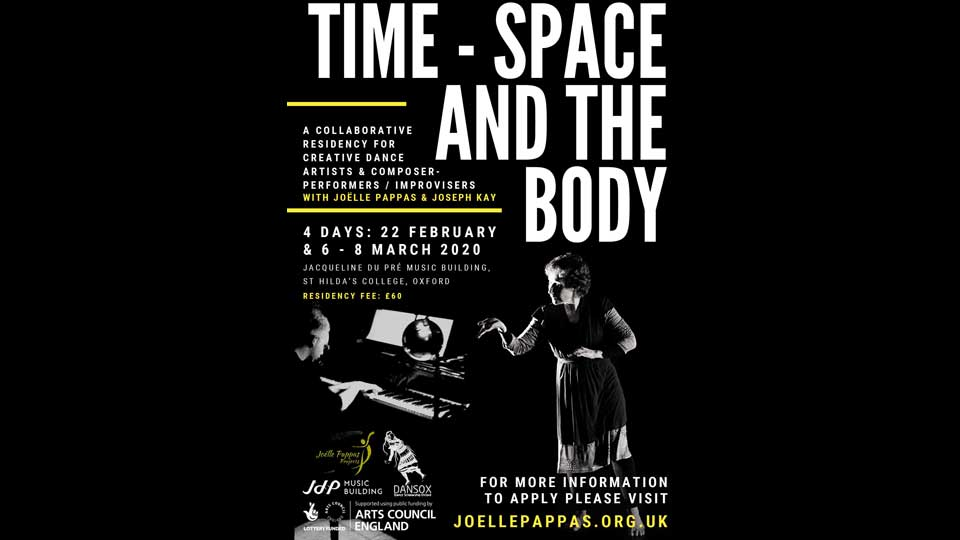 Creative Residency Time – Space and the Body