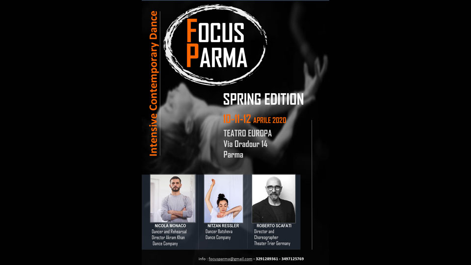Focus Parma Contemporary Dance Intensive