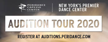 Peridance Capezio Center Auditions