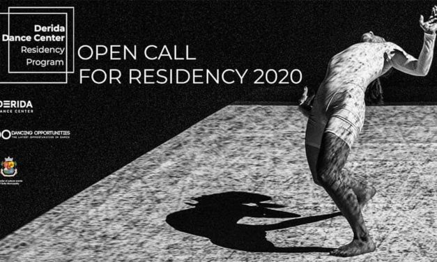 Derida Dance Center Residency Program 2020