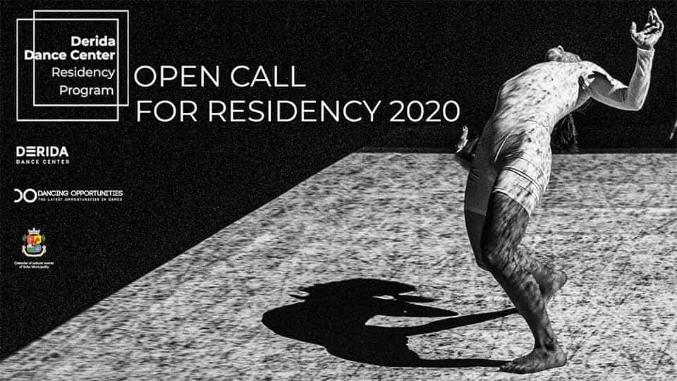 Derida Dance Center Residency Program 2020