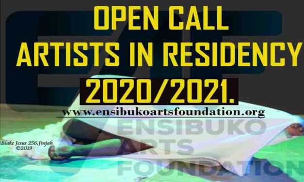 Residency Opportunities Ensibuko Arts Foundation