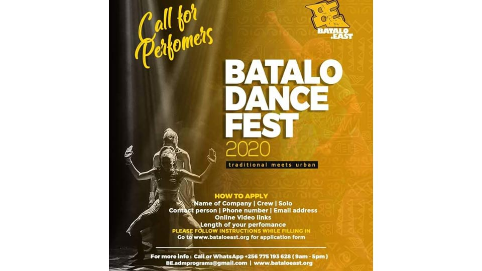 Call For Performers At Batalo Dance Fest 2020