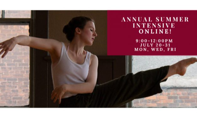 Annual Summer Contemporary Dance Intensive