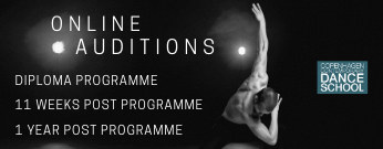 Copenhagen contemporary dance school Auditions