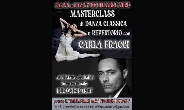 Master Classes with Carla Fracci and Ludovic Party