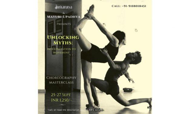 Unlocking Myths – A Choreography Masterclass