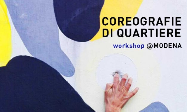 Workshop Site-Specific Dance By Marianna Miozzo