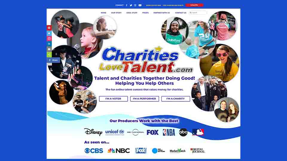 Charities Love Talent Paid Commercial Dance casting